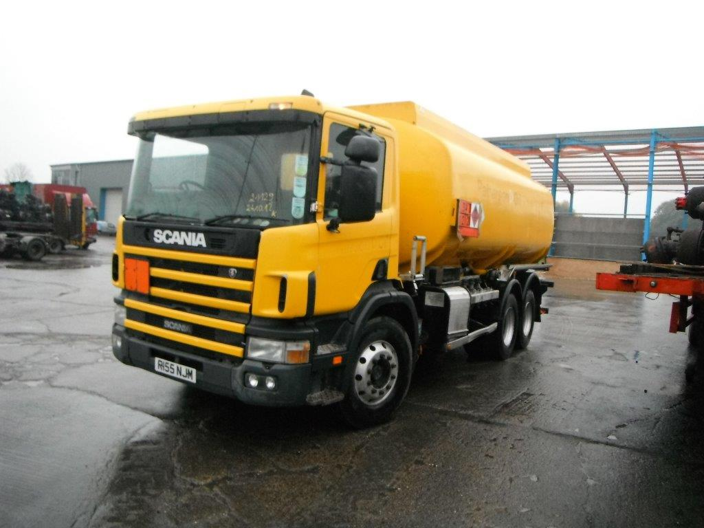 SCANIA FUEL TANKER